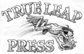 True Leap Press - B&W Line Version -